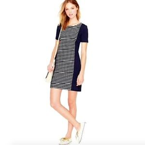 J CREW Short Sleeve Knit Shift Dress Size 10